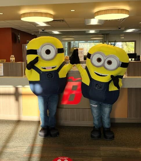 Yellow Monsters Went To The Bank!
