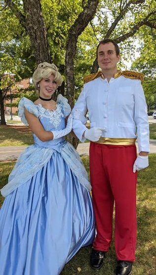Cinderella & Prince Charming Went To The Ball!