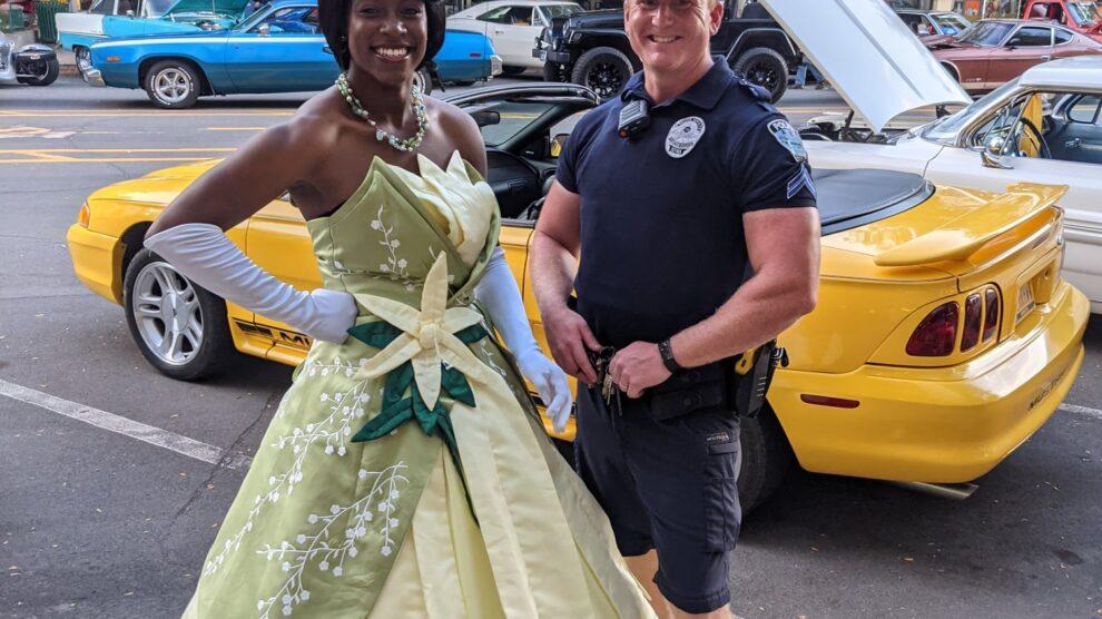 Princess of the Bayou Visited Clinton, Iowa!