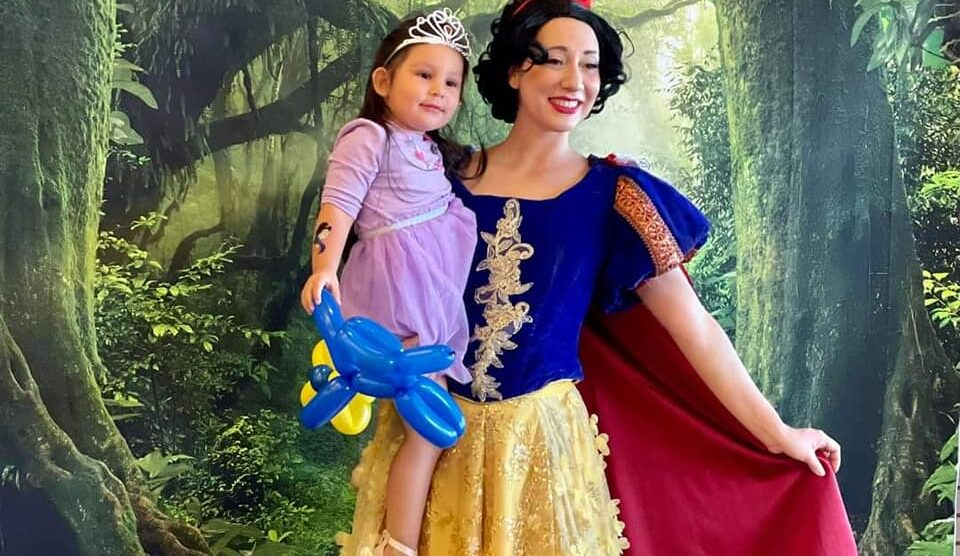 A Sunday with Snow White!